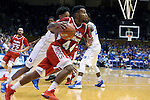 30 October 2015: Florida Southern's Sheldon Zablotny (44). The Duke University Blue Devils hosted the Florida Southern College Moccasins at Cameron Indoor Stadium in Durham, North Carolina in a 2015-16 NCAA Men's Basketball Exhibition game. Duke won the game 112-68.