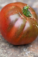 Tomato Black Krim, aka Black Crimson and Black Crim, heirloom vegetable beefsteak tomatoes from Russia