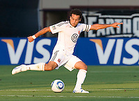 Dwayne De Rosario of DC United in action during the game against San Jose Earthquakes at Buck Shaw Stadium in Santa Clara, California on July 30th, 2011.   DC United defeated San Jose Earthquakes, 2-0.