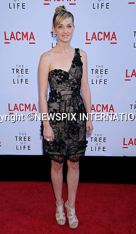 """JESS WEIXLER.attends the Los Angeles Premiere of """"The Tree Of Life"""" held at the Bing Theatre, LACMA, Los Angeles, California_24/05/2011.Mandatory Photo Credit: ©Crosby/Newspix International..**ALL FEES PAYABLE TO: """"NEWSPIX INTERNATIONAL""""**..PHOTO CREDIT MANDATORY!!: NEWSPIX INTERNATIONAL(Failure to credit will incur a surcharge of 100% of reproduction fees)..IMMEDIATE CONFIRMATION OF USAGE REQUIRED:.Newspix International, 31 Chinnery Hill, Bishop's Stortford, ENGLAND CM23 3PS.Tel:+441279 324672  ; Fax: +441279656877.Mobile:  0777568 1153.e-mail: info@newspixinternational.co.uk"""