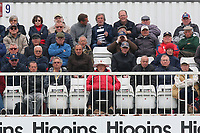 Spectators on a chilly afternoon during Essex Eagles vs Gloucestershire, Royal London One-Day Cup Cricket at The Cloudfm County Ground on 4th May 2017