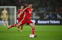 FUSSBALL   1. BUNDESLIGA   SAISON 2012/2013    22. SPIELTAG VfL Wolfsburg - FC Bayern Muenchen                       15.02.2013 Daniel Van Buyten (FC Bayern Muenchen) Einzelaktion am Ball