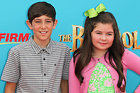 UNIVERSAL CITY, CA, USA - SEPTEMBER 21: Diego Velazquez, Addison Riecke at the Los Angeles Premiere Of Focus Features' 'The Boxtrolls' held at Universal CityWalk on September 21, 2014 in Universal City, California, United States. (Photo by Celebrity Monitor)