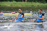 Amsterdam, NETHERLANDS, ITA BM2X,  2011 FISA U23 World Rowing Championships, Wednesday, 20/07/2011 [Mandatory credit:  Intersport Images]