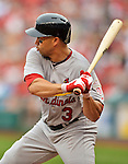 2 September 2012: St. Louis Cardinals outfielder Carlos Beltran in action against the Washington Nationals at Nationals Park in Washington, DC. The Nationals edged out the visiting Cardinals 4-3, capping their 4-game series with three wins. Mandatory Credit: Ed Wolfstein Photo