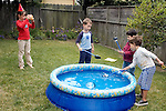 El Cerrito CA Girl, six-years-old, photographing brother's five-year-old birthday party  MR