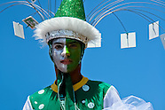 A Colombian boy, having a modern costume, performs during the Carnival in Barranquilla, Colombia, 25 February 2006. The Carnival of Barranquilla is a unique festivity which takes place every year during February or March on the Caribbean coast of Colombia. A colourful mixture of the ancient African tribal dances and the Spanish music influence - cumbia, porro, mapale, puya, congo among others - hit for five days nearly all central streets of Barranquilla. Those traditions kept for centuries by Black African slaves have had the great impact on Colombian culture and Colombian society. In November 2003 the Carnival of Barranquilla was proclaimed as the Masterpiece of the Oral and Intangible Heritage of Humanity by UNESCO.