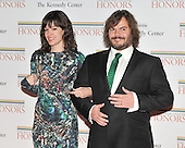 Washington, DC - December 5, 2009 -- Tanya Hayden and Jack Black arrives for the formal Artist's Dinner at the United States Department of State in Washington, D.C. on Saturday, December 5, 2009..Credit: Ron Sachs / CNP.(RESTRICTION: NO New York or New Jersey Newspapers or newspapers within a 75 mile radius of New York City)