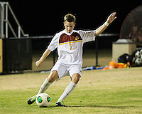 The Winthrop University Eagles beat the UNC Asheville Bulldogs 4-0 to clinch a spot in the Big South Championship tournament.  Cody Winter (2)