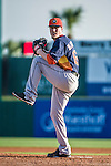 10 March 2014: Houston Astros starting pitcher Lucas Harrell on the mound during a Spring Training game against the Washington Nationals at Space Coast Stadium in Viera, Florida. The Astros defeated the Nationals 7-4 in Grapefruit League play. Mandatory Credit: Ed Wolfstein Photo *** RAW (NEF) Image File Available ***
