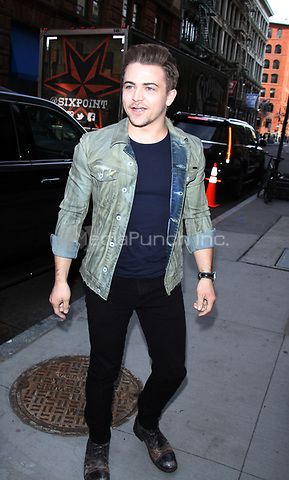 NEW YORK, NY April .11, 2017 Hunter Hays at AOL BUILD at to talk about his partnership with Heartgard in New York April 1,  2017. Credit:RW/MediaPunch