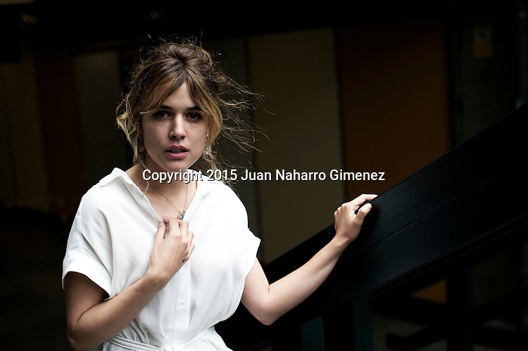 MADRID, SPAIN - APRIL 27:  Spanish actress Adriana Ugarte poses in a portrait session on April 27, 2015 in Madrid, Spain.  (Photo by Juan Naharro Gimenez)
