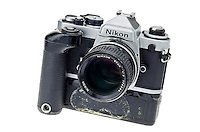 Nikon FE 35mm Single Lens Reflex Camera - Feb 2012.