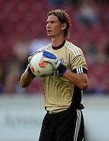 Fussball Europa League Play Offs:  Saison   2012/2013     VfB Stuttgart - Dynamo Moskau  22.08.2012 Torwart Anton Shunin (Dynamo Moskau)
