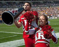 Rutgers cheerleaders. The Pittsburgh Panthers defeated the Rutgers Scarlet Knights 41-21 on October 23, 2010 at Heinz Field, Pittsburgh, Pennsylvania....