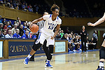22 November 2016: Duke's Crystal Primm. The Duke University Blue Devils hosted the Old Dominion University Monarchs at Cameron Indoor Stadium in Durham, North Carolina in a 2016-17 NCAA Division I Women's Basketball game. Duke won the game 92-64.
