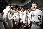 MILWAUKEE, WI - MARCH 16:  Minnesota Gophers players get ready in the tunnel before their game against the Middle Tennessee Blue Raiders during the 2017 NCAA Men's Basketball Tournament held at BMO Harris Bradley Center on March 16, 2017 in Milwaukee, Wisconsin. (Photo by Jamie Schwaberow/NCAA Photos via Getty Images)