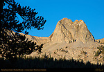 Crystal Crag at Sunrise, Mammoth Mountain, Eastern Sierras, Mono County, California
