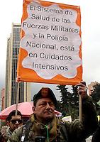 BOGOTA -COLOMBIA , 18- MARZO-2016.  Marcha en apoyo al paro nacional./  the march in support of the national strikePhoto: VizzorImage / Felipe Caicedo / Staff