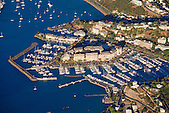 Pointe Brunelet et baie des Pêcheurs, quartier de port Plaisance, Nouméa, Nouvelle-Calédonie
