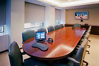 Boardroom Table With Built In Mics