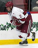 Tyler Moy (Harvard - 2) - The Harvard University Crimson tied the visiting Yale University Bulldogs 1-1 on Saturday, January 21, 2017, at the Bright-Landry Hockey Center in Boston, Massachusetts.