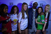 "Snoop Dogg now known as Snoop Lion attends an event organized by MLB and EA Sports for launching the last soccer game named ""FIFA Soccer 13"" in New York . Photo by Eduardo Munoz Alvarez / VIEW."