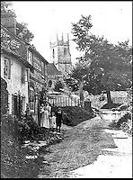 BNPS.co.uk (01202 558833)<br /> Pic: GoogleImages<br /> <br /> Imber village around 1900.<br /> <br />  Abandoned villlage becomes a hive of activity once more.<br /> <br /> The deserted village of Imber in the heart of Salisbury Plain has new residents again - 70 years after the army controversially kicked out the 200 parishoners during WW2.<br /> <br /> Bee farmer Chris Wilkes has placed 12 hives of the plucky British black bee behind St Giles church in the hamlet to feast on the extraordinary wildflower habitat of the plain that has been protected from pesticides and intensive farming siince the Army moved in.<br /> <br /> The isolation of the village will in fact ensure that the unique colony can thrive five miles from competing honey bee populations and with a cornucopia of the top nectar producing flowers in the UK surviving on the chalk downlands to feed on Mr Wilkes is hoping that the population will thrive.