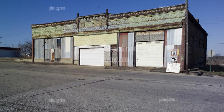 Front Street Garage Galena Ks Historic Us Route 66