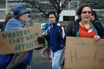 United Students Against Sweatshops Protest