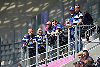 Bath Rugby supporters look on prior to the match. European Rugby Challenge Cup Semi Final, between Stade Francais and Bath Rugby on April 23, 2017 at the Stade Jean-Bouin in Paris, France. Photo by: Patrick Khachfe / Onside Images