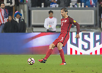 San Jose, CA - March 24, 2017: The United States Men's National Team vs Honduras at Avaya Stadium. Final score USA 6, Honduras 0.