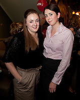 NO REPRO FEE. 8/11/2011. The Counter Celebrates its first birthday. Pictured at the Counter Burber Restaurant on Suffolk St Dublin are Monica Beresford and Ciara O Leary. Picture James Horan /Collins