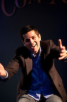 Comedian Dean Obeidallah poses for the photographer in New York, USA, 10 May 2009.