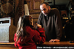 Actors Joe Anderson, right, and Alana Jo Beckman in a scene from the short film &quot;The Lost And Found Shop&quot;, directed by Caleb Slain.