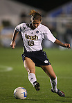 1 December 2006: Notre Dame's Christie Shaner. The University of Notre Dame Fighting Irish defeated Florida State Seminoles 2-1 at SAS Stadium in Cary, North Carolina in an NCAA Division I Women's College Cup semifinal game.