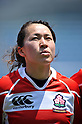 Tomoe Shinomiya (JPN),.MAY 19, 2012 - Rugby : Woman's Rugby Test match between Japan women's 61-15 Hong Kong women's at Chichibunomiya Rugby Stadium, Tokyo, Japan. (Photo by Jun Tsukida/AFLO SPORT)