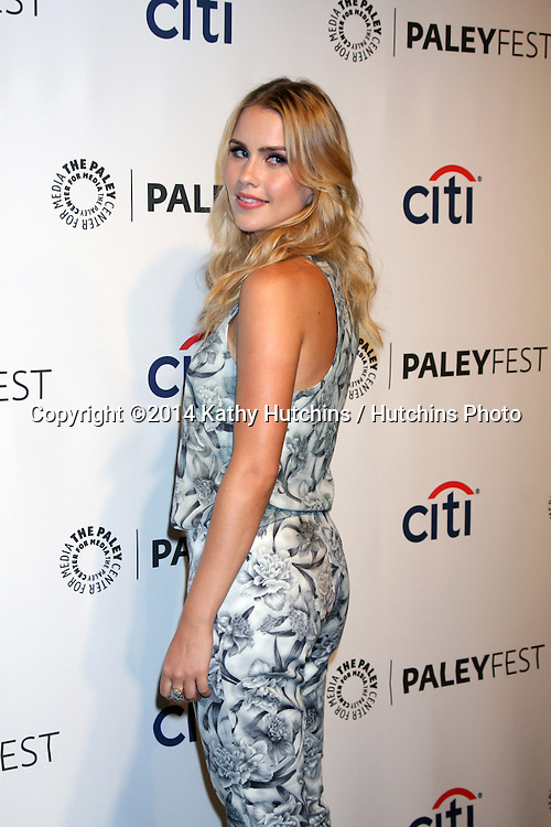 """LOS ANGELES - MAR 22:  Claire Holt at the PaleyFEST 2014 - """"The Vampire Diaries"""" & """"The Originals"""" at Dolby Theater on March 22, 2014 in Los Angeles, CA"""