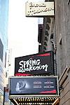'Spring Awakening' - Theatre Marquee