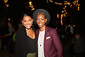 Henry V press night guests, cast and creatives at Regent's Park Open Air Theatre. Picture shows: Shanay Holmes and Genesis Lynea from the cast of Jesus Christ Superstar.