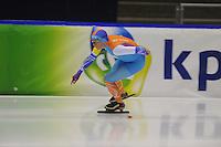 SCHAATSEN: HEERENVEEN: 16-01-2016 IJsstadion Thialf, Trainingswedstrijd Topsport, Linda de Vries, ©foto Martin de Jong