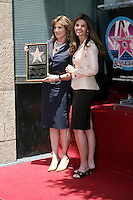 Susan Saint James & Maria Shriver.Susan Saint James receives a Star on the Hollywood Walk of Fame. Los Angeles, CA.June 11, 2008.©2008 Kathy Hutchins / Hutchins Photo .