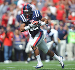 Mississippi's Donte Moncrief (12) makes a touchdown catch against Georgia in the second quarter at Vaught-Hemingway Stadium in Oxford, Miss. on Saturday, September 1724, 2011. (AP Photo/Oxford Eagle, Bruce Newman)..