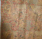 ATS-548 ANTIQUE BALI CALENDAR PALINDON PAINTING