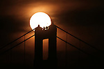 The planet Venus made a rare transit in front of the sun while set behind the Golden Gate Bridge in San Franicsco on Tuesday 6/5.  To see another one, you'll have to wait 105 years. .. .