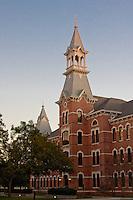 Burleson Hall building at Baylor University, Waco, Texas.