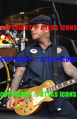 Social Distortion; Mike Ness;.Photo Credit: Eddie Malluk/Atlas Icons.com