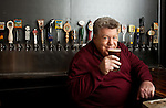 George Wendt photographed at the Library Ale House, Santa Monica for Draft Magazine