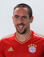 FUSSBALL     1. BUNDESLIGA     SAISON  2012/2013     30.07.2012 Fototermin beim  FC Bayern Muenchen  Franck Ribery
