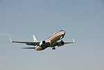 Washington DC; USA: Watching airplanes land and take off at Gravelly Point/Roaches Run near Washington National Airport DCA.Photo copyright Lee Foster Photo # 35-washdc80236